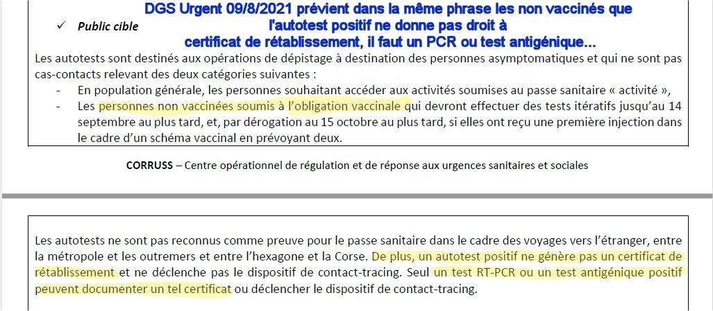 DGS Urgent 09/08/2021